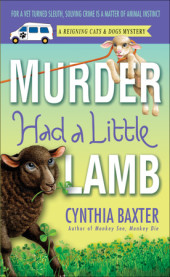 Murder Had a Little Lamb Cover