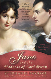 Jane and the Madness of Lord Byron Cover