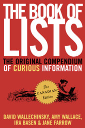 The Book of Lists, The Canadian Edition Cover