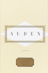 Auden: Poems Cover