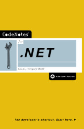 CodeNotes for .NET Cover