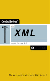 CodeNotes for XML Cover