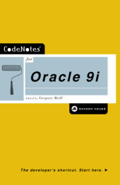 CodeNotes for Oracle 9i Cover