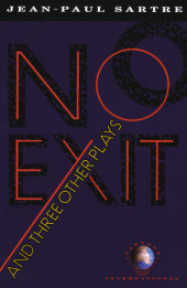 No Exit and Three Other Plays Cover