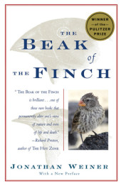 The Beak of the Finch Cover