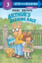 Arthur's Reading Race Cover