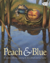Peach and Blue Cover