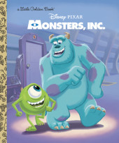 Monsters, Inc. Little Golden Book (Disney/Pixar Monsters, Inc.) Cover