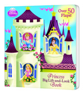 Princess Big Lift-and-Look Book (Disney Princess) Cover