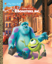 Monsters, Inc. Big Golden Book (Disney/Pixar Monsters, Inc.) Cover