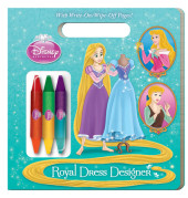 Royal Dress Designer (Disney Princess) Cover