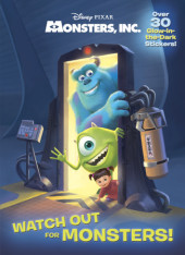 Watch Out for Monsters! (Disney/Pixar Monsters, Inc.) Cover