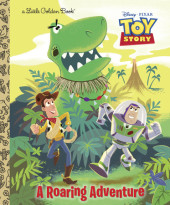 A Roaring Adventure (Disney/Pixar Toy Story) Cover