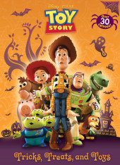 Tricks, Treats, and Toys (Disney/Pixar Toy Story) Cover