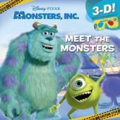 Meet the Monsters (Disney/Pixar Monsters Inc.) Cover