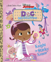 A Knight in Sticky Armor (Disney Junior: Doc McStuffins) Cover