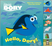 Finding Dory Tabbed Board Book (Disney/Pixar Finding Dory)