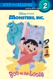 Boo on the Loose (Disney/Pixar Monsters, Inc.) Cover