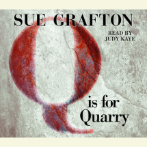 Q Is For Quarry Cover