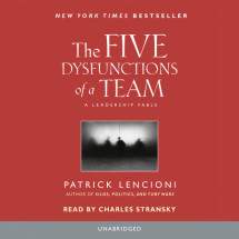 The Five Dysfunctions of a Team Cover