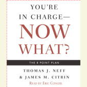 You're in Charge, Now What? Cover