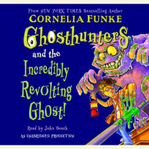 Ghosthunters #1: Ghosthunters and the Incredibly Revolting Ghost Cover