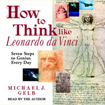 How to Think like Leonardo da Vinci Cover