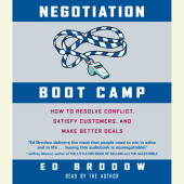 Negotiation Boot Camp Cover