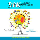 Stink and the Incredible Super-Galactic Jawbreaker (Book #2) Cover