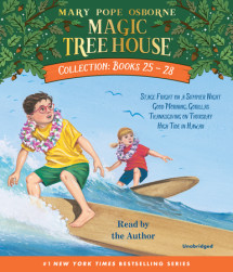Magic Tree House Collection Volume 7: Books 25-28 Cover
