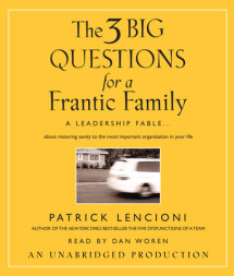The Three Big Questions for a Frantic Family Cover