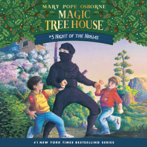 Magic Tree House #5: Night of the Ninjas Cover