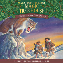 Magic Tree House #7: Sunset of the Sabertooth Cover