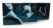 Fifty Shades Trilogy Audiobook Bundle Cover