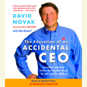 The Education of an Accidental CEO Cover