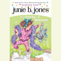 Junie B. Jones Is a Party Animal Cover