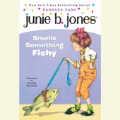 Junie B. Jones Smells Something Fishy Cover
