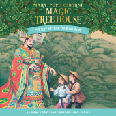 Magic Tree House #14: Day of the Dragon King Cover