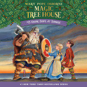 Magic Tree House #15: Viking Ships at Sunrise Cover