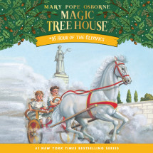 Magic Tree House #16: Hour of the Olympics Cover