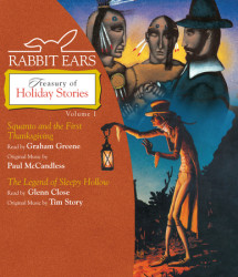Rabbit Ears Treasury of Holiday Stories: Volume One Cover