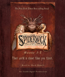 The Spiderwick Chronicles: Books 1-5 Cover