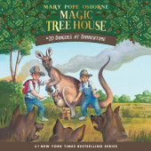Magic Tree House #20: Dingoes at Dinnertime Cover