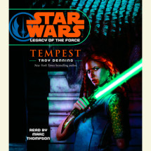 Star Wars: Legacy of the Force: Tempest Cover