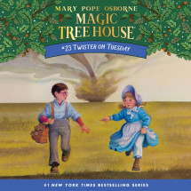 Magic Tree House #23: Twister on Tuesday Cover