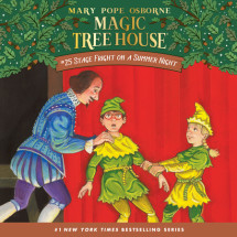 Magic Tree House #25: Stage Fright on a Summer Night Cover