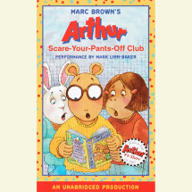 Arthur and the Scare-Your-Pants-Off Club Cover