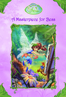 Disney Fairies: A Masterpiece for Bess Cover