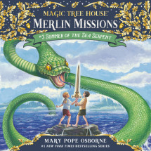 Magic Tree House #31: Summer of the Sea Serpent Cover