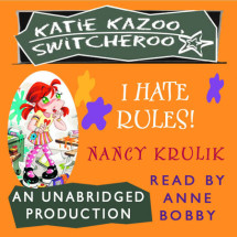 Katie Kazoo, Switcheroo #5: I Hate Rules! Cover